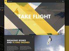Drone Concept #website