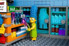 The Kwik-E-Mart From The Simpsons Lego_3 #simpsons #kwik-e-mart #lego #the