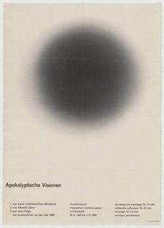 FFFFOUND! | MoMA | The Collection | Fritz Fischer-Nosbisch. Apokalyptische Visionen. 1963