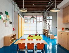 Sweet Peas Preschool by Red Dot Studio #interior #design