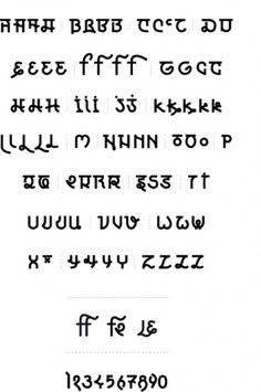 ALIER ADRIEN CHEV #font #typo