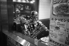 All sizes | Untitled | Flickr - Photo Sharing! #terminator #restaurant #asian #robot