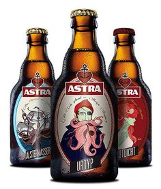 Astra Beer #packaging #beer