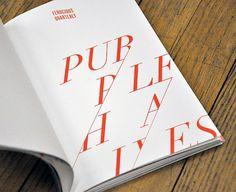 Ferocious Quarterly No.2 | Nate Utesch | NTHNL #typography