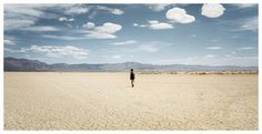 (9) Likes | Tumblr #clouds #woman #desert #sky