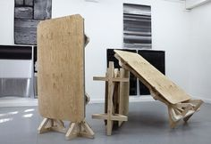 void() #art #exhibition #installation #plywood