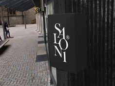 Salon1 / 2013 on Behance #design #branding