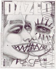 Ilustraciones de portadas de revistas por John Paul Thurlow - Ilustración | OLDSKULL