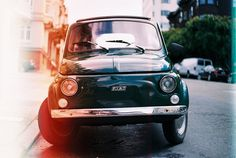 35mm Photography Brett Newman #fiat #burn #color #vintage #film #yashica #car