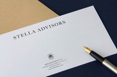 Stella Advisors by Matthew Hancock #identity #business card #branding