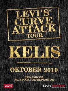 Ticketverlosung: 'Levi's Curve Attack Tour 2010′ mit Kelis & Natalia Kills | ArtSchoolVets! #curve #attack