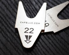 design work life » cataloging inspiration daily #type #ticket #cafe