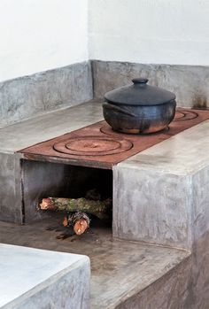 concretestove.jpg #interior #design #decor #deco #decoration