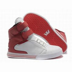supra tk society white red high tops women shoes #fashion