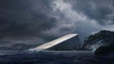 """Snøhetta unveils plans for """"Europe's first underwater restaurant"""""""