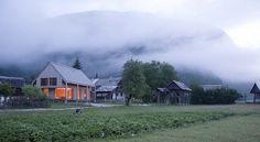 OFIS Architecture: 6x11 Alpine hut in Slovene Alps - Thisispaper Magazine #alpine #slovenia #mountain #architecture #hut