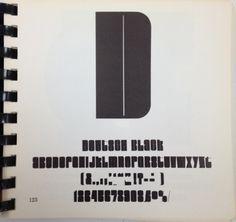 Daily Type Specimen | Deutsch Black #font #specimen #type #typography
