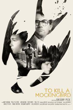 #poster #mockingbird #mask #gregorypeck #gregory #peck