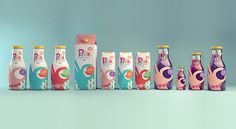 Petit Natural Juices - Sustainable Packaging Design #packaging #design #graphic #3d