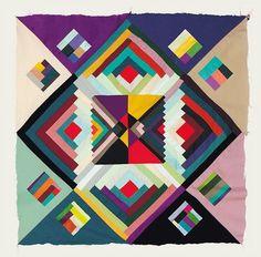Hvass&Hannibal - BOOOOOOOM! - CREATE * INSPIRE * COMMUNITY * ART * DESIGN * MUSIC * FILM * PHOTO * PROJECTS #hvasshannibal #copenhagen #quilt #colors