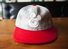 AMPERSAND BASEBALL CAP (RED) | Ugmonk #ampersand #ugmonk #hat #fashion