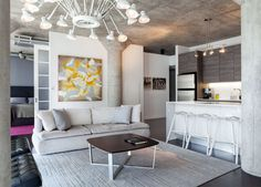 Small but Attractive Modern Loft in Toronto - #decor, #interior, #homedecor,