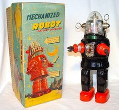 Attack of the Vintage Toy Robots! Justin Pinchot on Japan's Coolest Postwar Export | Collectors Weekly #robot