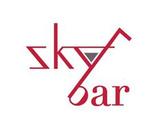 1.logo design #skybar #design #identity #logo #clever