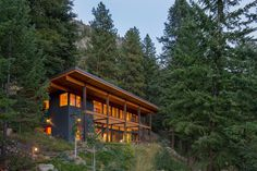 Chechaquo Cabin - Natural Modern Mountain Cabin Design