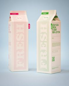 Lega-Lega T-shirts Packaging, by MIT #inspiration #creative #packaging #design #graphic #shirt #juice