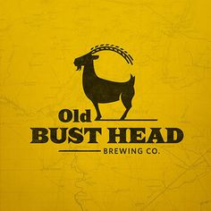 Old Bust Head Brewing Logo #beer #logo