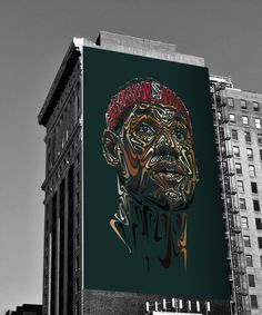 The Nike Portraits #lebron