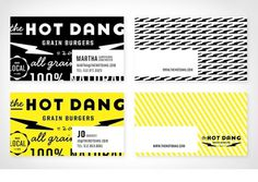 Graphic-ExchanGE - a selection of graphic projects #business cards #make and matter