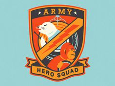 AD Hero Squad Patch #crest