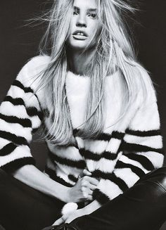 Lara Stone by Nico for Madame Figaro #girl #fashion #photography #fashion photography #model