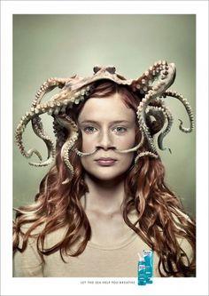 Novartis Otrivin – Laissez la mer vous aider à respirer | Voyons Voir - J'aime le frivole #design #graphic