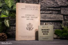 Hollow Book Safe & Emergency Drinking Water flask