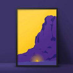 Alien - In Space? Series  https://www.etsy.com/de/listing/226525594/alien-in-space-serie #minimal #graphic #geometric #poster #a2 #illustrat