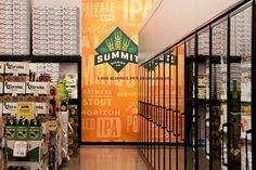 Summit Brewing Display #beer #display