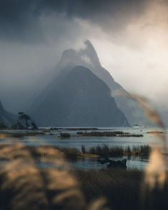 Dynamic and Beautiful Mountains of New Zealand by Phillip Gow