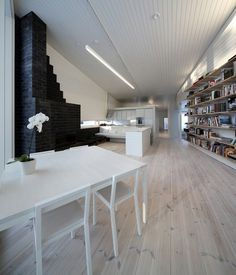CJWHO ™ (Apelle) #white #workplace #design #books #interiors #photography #architecture
