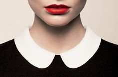 shapes #fashion #collar #lipstick