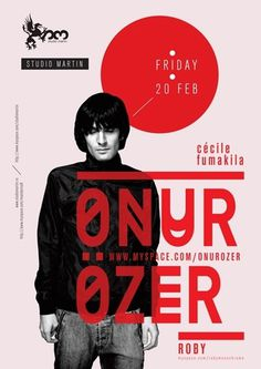 bogdan ceausescu - typo/graphic posters #music #type #design #poster