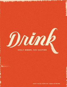 lol #lettering #red #drink #stripe #type #hand #typography