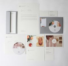 Siobhan Byrne #branding #classic #monogram #identity #collateral #stationery #passport #photographer