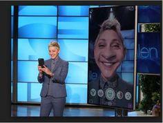 Ellen DeGeneres on Snapchat