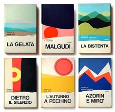 Book design, Mario Delgrada, 1970s, colour, illustration, book cover