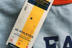 athletics hang tag