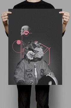 photo #design #geometric #illustration #poster #skull