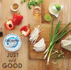 // Chobani \'Just Add Good\' on Behance